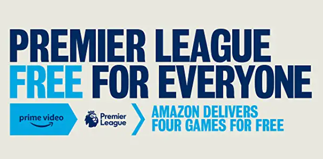 Amazon Shows 4 x Live Premier League Games in June & July 2020