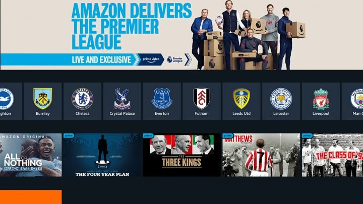 Amazon reveals 2021/22 Premier League games